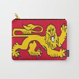 drapeau de l'aquitaine-France,Europe,Sud-ouest,aquitain, guyenne,Bordeaux,rouge,lion,Gasconne Carry-All Pouch