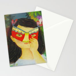 She's the only one who knows Stationery Cards