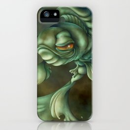 Bad Fish iPhone Case