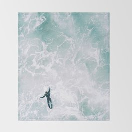Surf's Up Throw Blanket