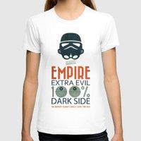 propaganda T-shirts featuring Star Wars Empire Propaganda by Costantino Gallo