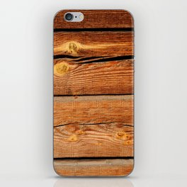 Rustic Wooden Planks  Wood Board Country Gifts iPhone Skin