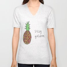 stay golden Unisex V-Neck