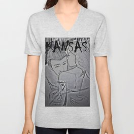 Grown Woman Business #1 (Muse collection)  Unisex V-Neck