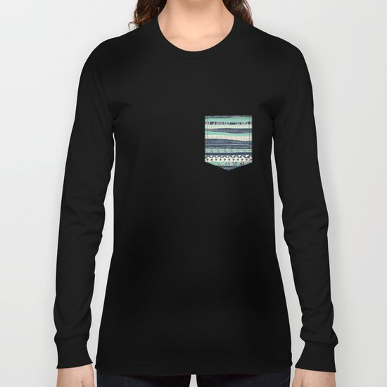 aztec color variation Long Sleeve T-shirt