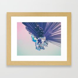 Turbulence Framed Art Print