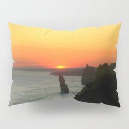 Sunsetting over the Great Southern Ocean Pillow Sham