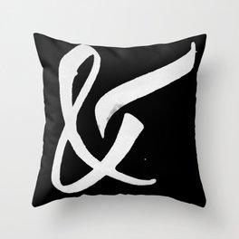 &1 Throw Pillow