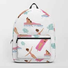 Enjoy Summer on The Pool Backpack