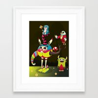 candy Framed Art Prints featuring Candy by Teodoru Badiu