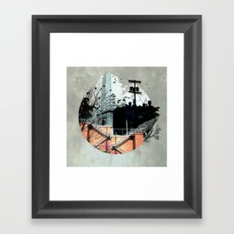 Fractal Disjunction Framed Art Print
