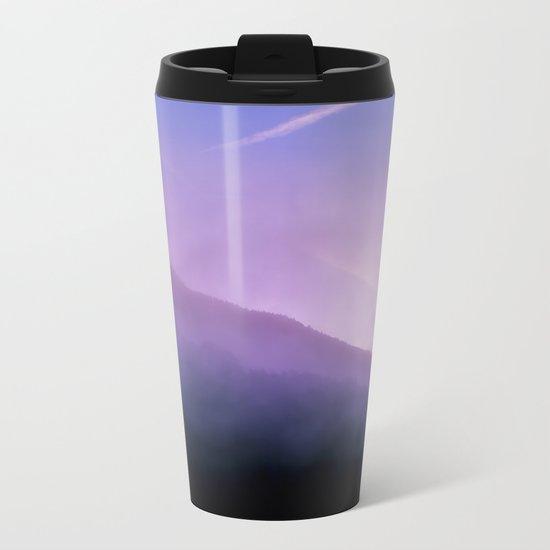 Morning Fog Metal Travel Mug