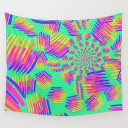 Spring breakers - geometric color Wall Tapestry