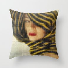 Lego: Vogue Cover July 1951 Throw Pillow