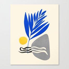 Landscape In Blue Canvas Print
