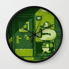 High School Game Boy Wall Clock