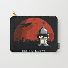 Drunk Robot Carry-All Pouch