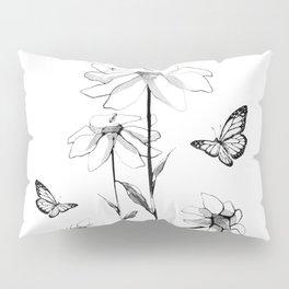 Flowers and butterflies 2 Pillow Sham