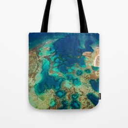 Colours of the Reef Tote Bag
