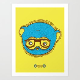 Ned the Koala Art Print