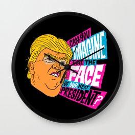 Trump Face Wall Clock
