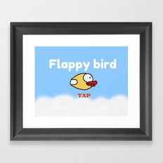 Flappy Bird Framed Art Print