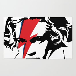 Beethoven with flash Rug