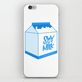 soy milk iPhone Skin