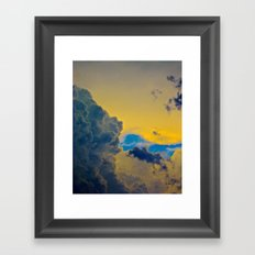 Just Before the Storm Framed Art Print