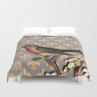 robin Duvet Covers featuring Robin by Mr and Mrs Quirynen