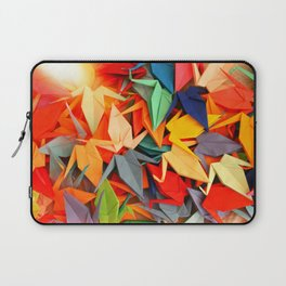Senbazuru rainbow Laptop Sleeve