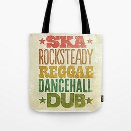 Shades of Reggae Tote Bag