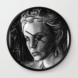 Queen Ravenna Wall Clock