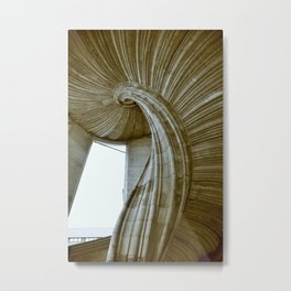 Sand stone spiral staircase 8 Metal Print