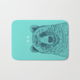 I Like You (Bear) Bath Mat