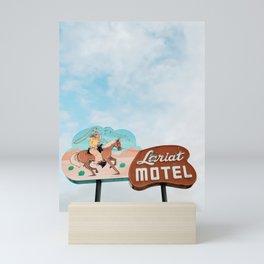 The Lariat Mini Art Print