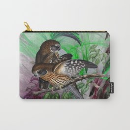 Boobook Owls Carry-All Pouch