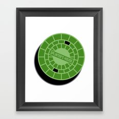 Splinter's house Framed Art Print