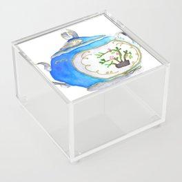 Sugar Bowl Water Color Acrylic Box