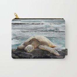 Hawaiian Honu - Sea Turtle Carry-All Pouch