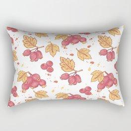 Autumn berries pattern design Rectangular Pillow