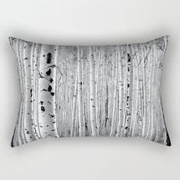 Aspen Tree Maze Rectangular Pillow
