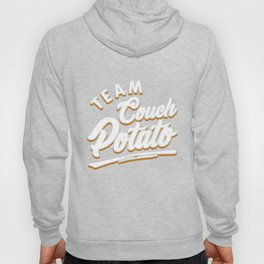 Team Couch Potato Lazy Potato Vegetable Sofa Hoody