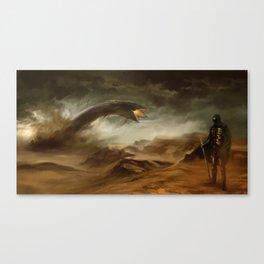 Sands of Arrakis Canvas Print