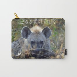 Beautiful Hyena Carry-All Pouch