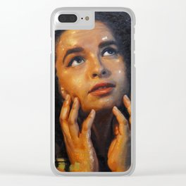 """""""Day Dreamer"""" Clear iPhone Case"""