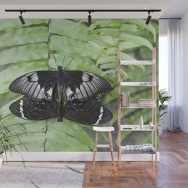 Mating Swallowtail Butterfly Wall Mural
