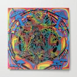DJ FOREST MUSHROOM Metal Print