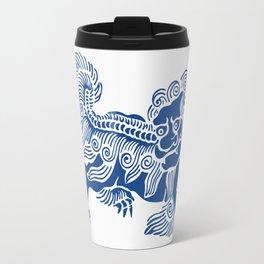Lucky Lion Travel Mug
