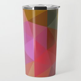 Autumn Leaves Low Poly Travel Mug